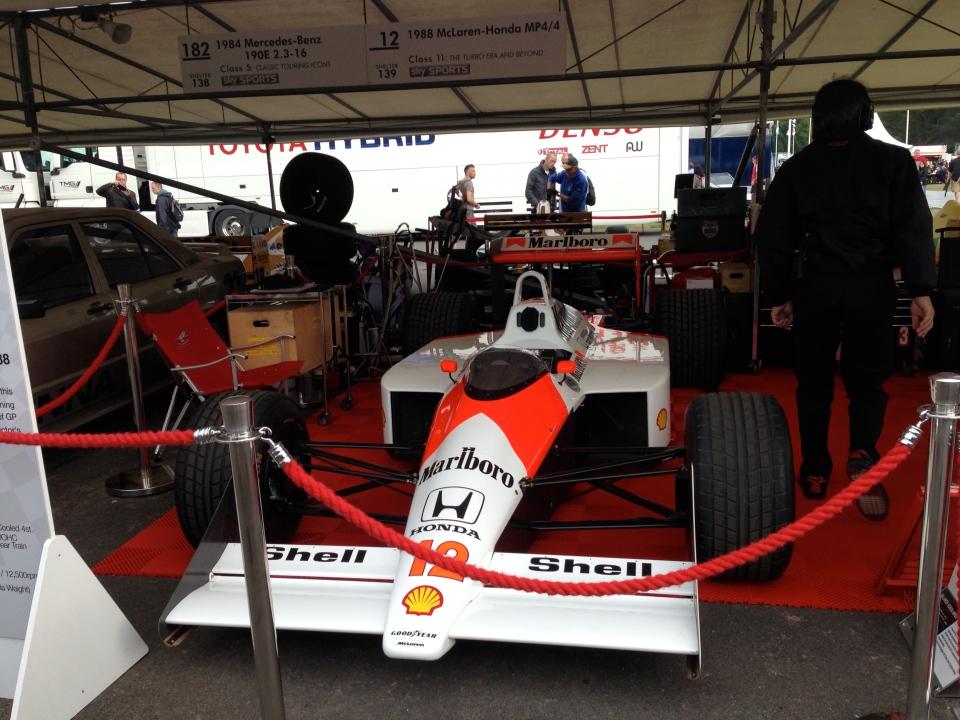 Ayrton Senna Honda McLaren Formula 1 Car
